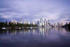 De Horizon van het Punt van de Kangoeroe van Brisbane Royalty-vrije Stock Fotografie