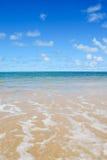 De Horizon van het strand Stock Afbeeldingen
