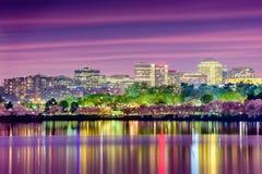 De Horizon van het Washington DC stock foto's