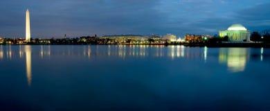 De Horizon van het Washington DC Stock Afbeeldingen