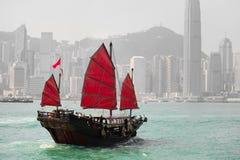 De horizon van Hongkong Royalty-vrije Stock Afbeelding