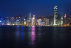 De Horizon van Hongkong Stock Afbeelding