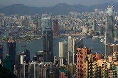 De Horizon van Hongkong Royalty-vrije Stock Foto