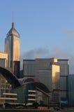 De Horizon van Hongkong. Royalty-vrije Stock Foto's