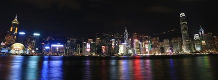 De Horizon van Hongkong Stock Foto's