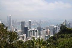 De Horizon van Hongkong stock fotografie