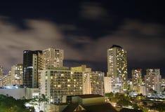 De horizon van Honolulu Stock Afbeeldingen