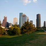 De horizon van Houston Stock Afbeeldingen