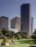 De horizon van Houston Stock Afbeelding