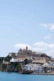De horizon van Ibiza Stock Afbeeldingen