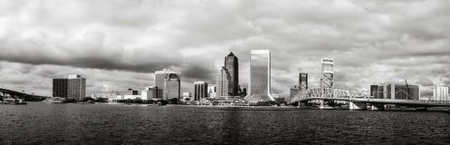 De Horizon van Jacksonville in Florida Royalty-vrije Stock Afbeeldingen