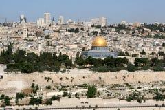 De Horizon van Jeruzalem royalty-vrije stock afbeeldingen