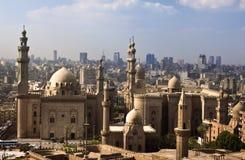 De horizon van Kaïro, Egypte Stock Afbeelding