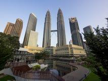 De Horizon van Kuala Lumpur, Maleisië Royalty-vrije Stock Afbeeldingen