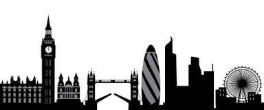 De horizon van Londen Stock Foto