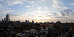 De horizon van Londen Stock Afbeeldingen