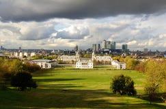 De Horizon van Londen stock afbeelding