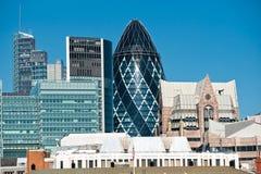 De horizon van Londen, het UK. Stock Foto's