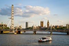 De horizon van Londen, Londen, het UK royalty-vrije stock afbeelding