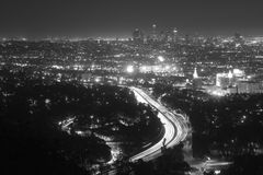 De Horizon van Los Angeles Royalty-vrije Stock Fotografie
