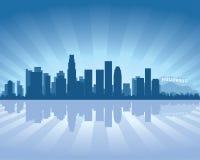De horizon van Los Angeles Stock Afbeelding