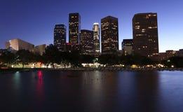 De horizon van Los Angeles Stock Foto's