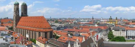 De horizon van München Stock Afbeelding