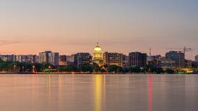 De Horizon van Madison, Wisconsin, de V.S. stock videobeelden