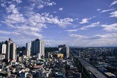 De Horizon van Makati Stock Afbeelding