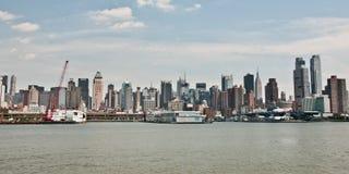 De Horizon van Manhattan stock fotografie