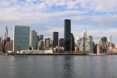 De horizon van Manhattan, de Stad van New York stock afbeeldingen