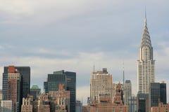 De horizon van Manhattan, de Stad van New York Royalty-vrije Stock Afbeeldingen