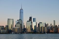 De horizon van Manhattan, NYC royalty-vrije stock fotografie