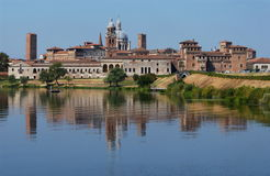 De horizon van Mantua Royalty-vrije Stock Fotografie