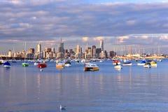 De horizon van Melbourne Royalty-vrije Stock Fotografie