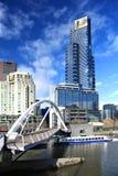 De horizon van Melbourne Royalty-vrije Stock Foto's