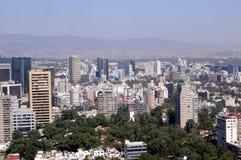 De horizon van Mexico-City Royalty-vrije Stock Afbeelding