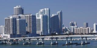 De Horizon van Miami stock afbeeldingen