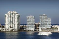 De Horizon van Miami royalty-vrije stock foto