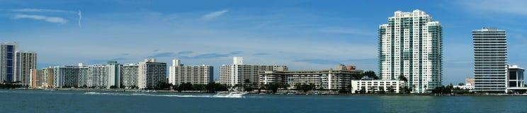 De horizon van Miami Stock Foto's