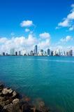 De Horizon van Miami Stock Fotografie