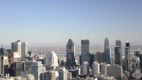 De Horizon van Montreal stock footage