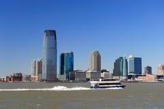 De horizon van New Jersey van de Stad van New York Royalty-vrije Stock Afbeeldingen
