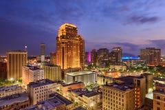 De horizon van New Orleans Stock Afbeeldingen