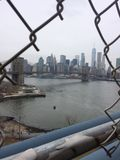 De Horizon van New York stock foto's
