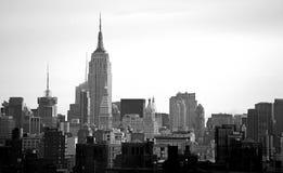De Horizon van New York stock foto