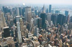 De Horizon van New York Stock Afbeeldingen