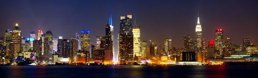 De horizon van New York Stock Fotografie