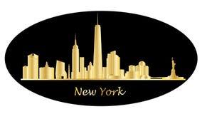 De Horizon van New York royalty-vrije illustratie