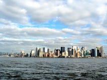 De horizon van New York Royalty-vrije Stock Afbeeldingen